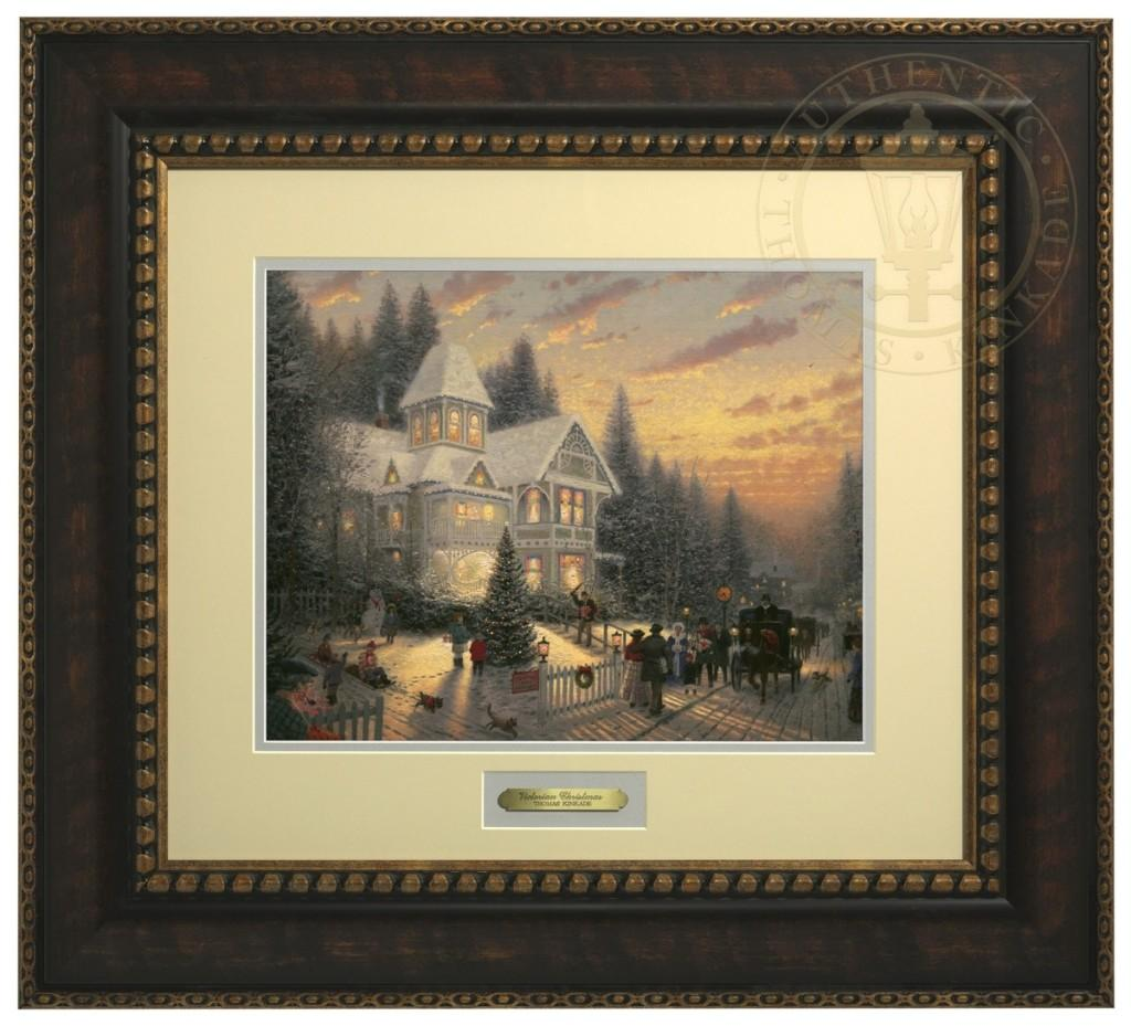 Victorian autumn limited edition art the thomas kinkade company select options victorian christmas prestige home collection jeuxipadfo Image collections