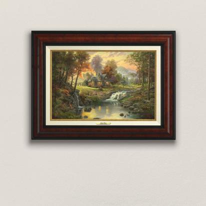 Canvas Clics Thomas Kinkade Masterworks Of Light Book