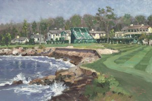 18th Hole at Pebble Beach, The - Limited Edition Art