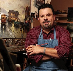 Thomas Kinkade Photo