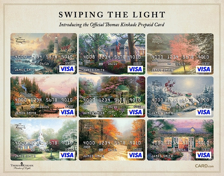 Thomas Kinkade Card-Com