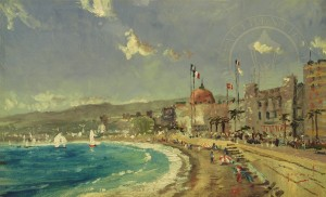The Beach at Nice