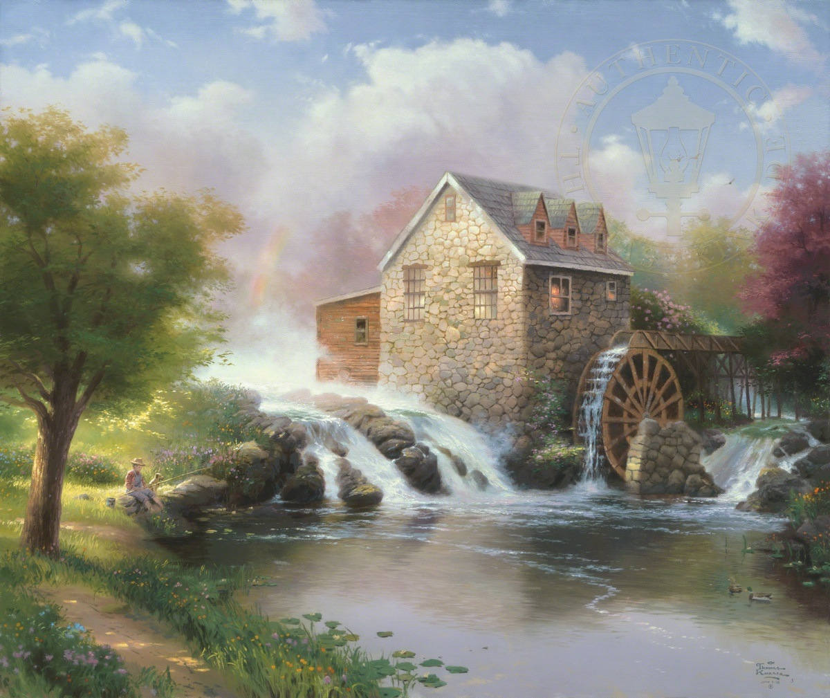 The Blessings Of Summer The Thomas Kinkade Company