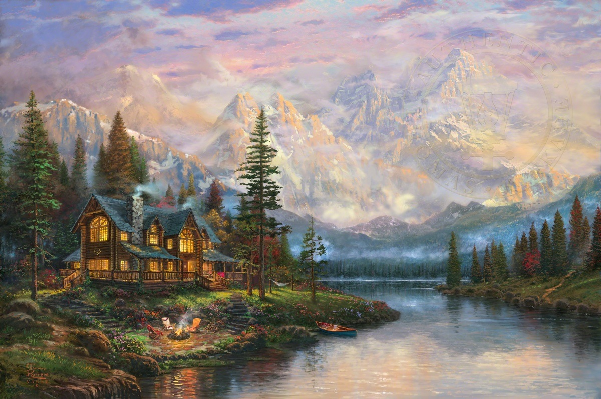 Cathedral Mountain Lodge The Thomas Kinkade Company