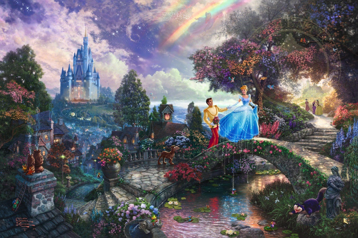 Cinderella Wishes Upon a Dream