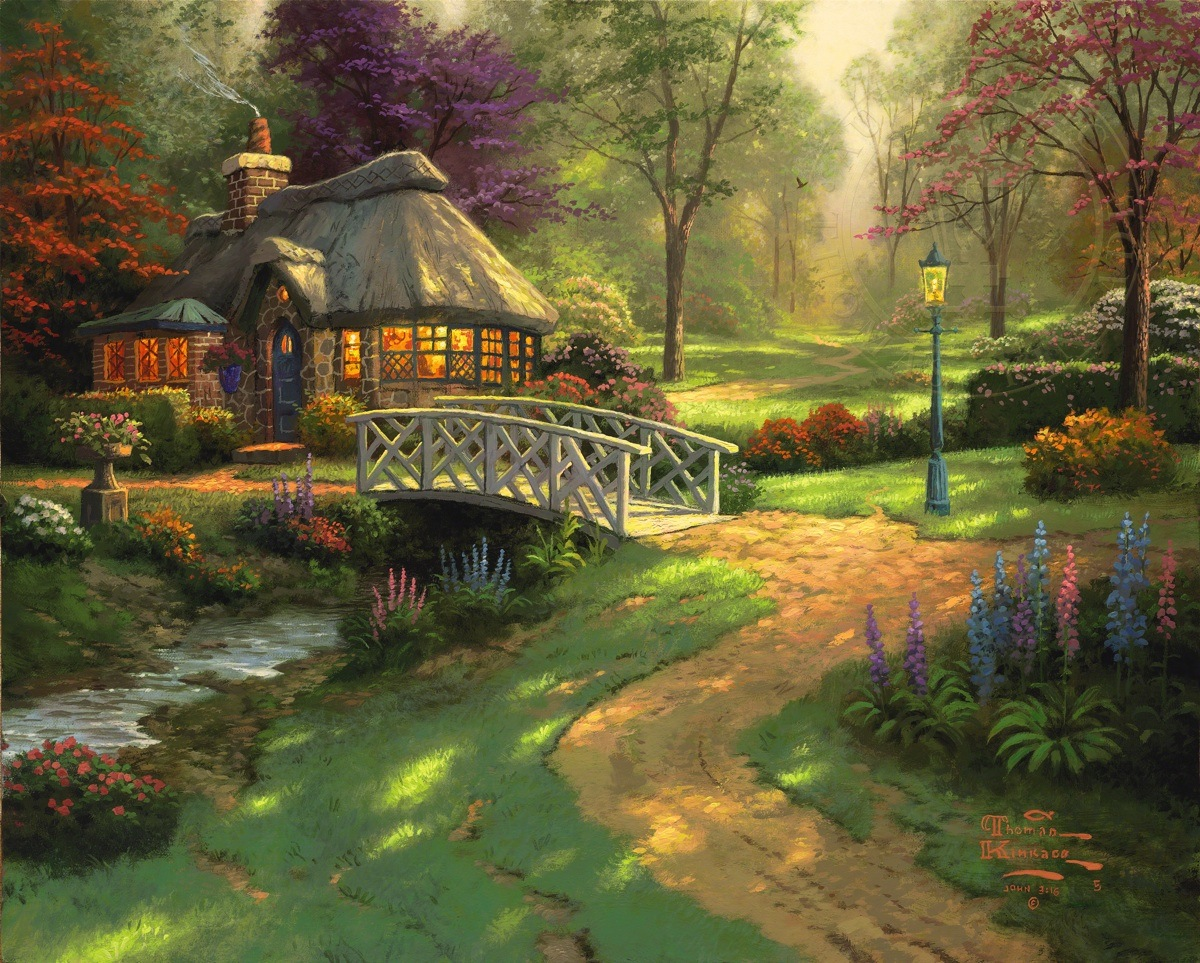 Friendship Cottage The Thomas Kinkade Company