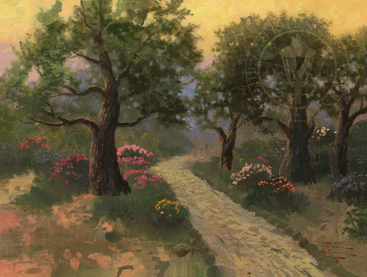 Garden Of Gethsemane The Thomas Kinkade Company