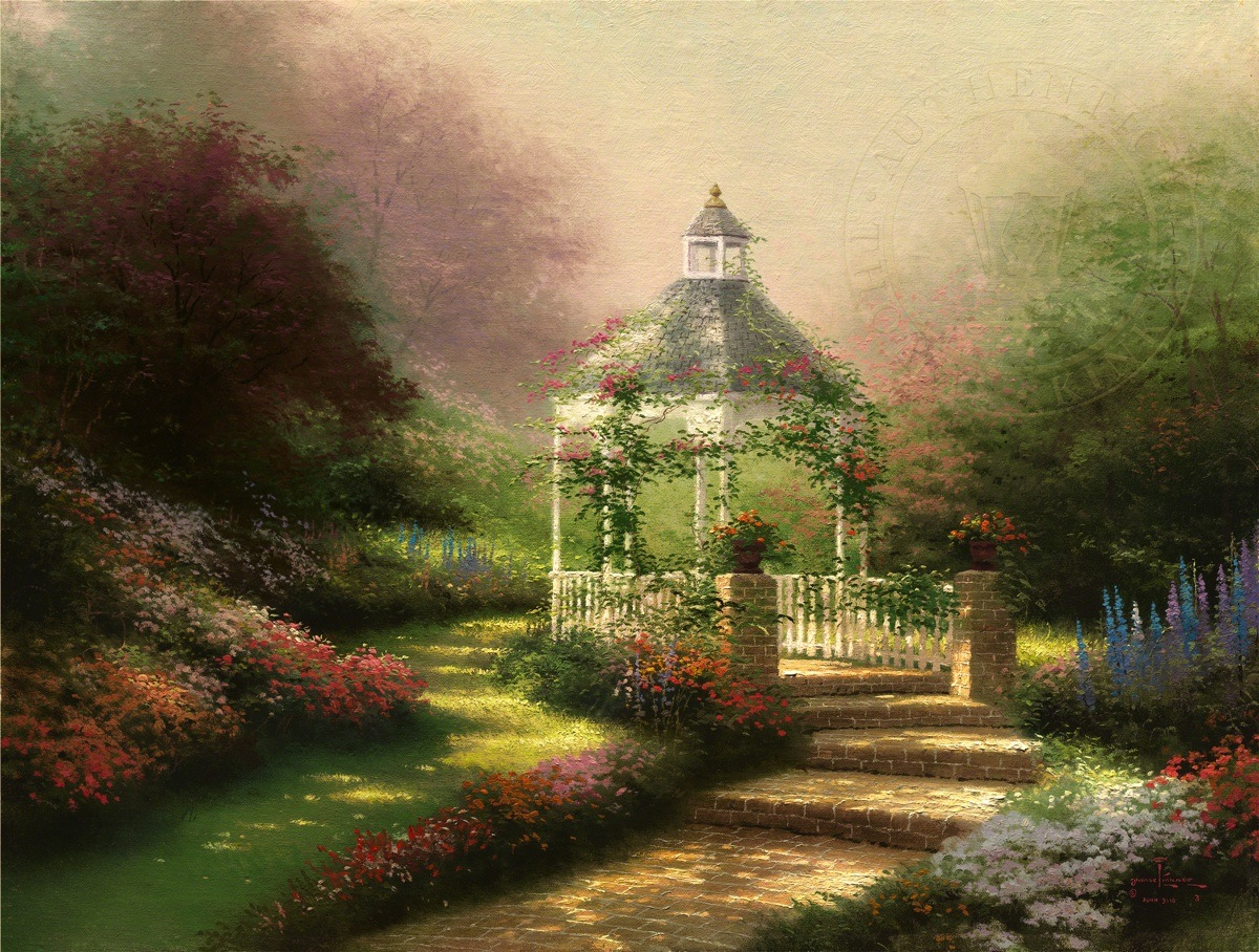 Hidden Images Thomas Kinkade Paintings