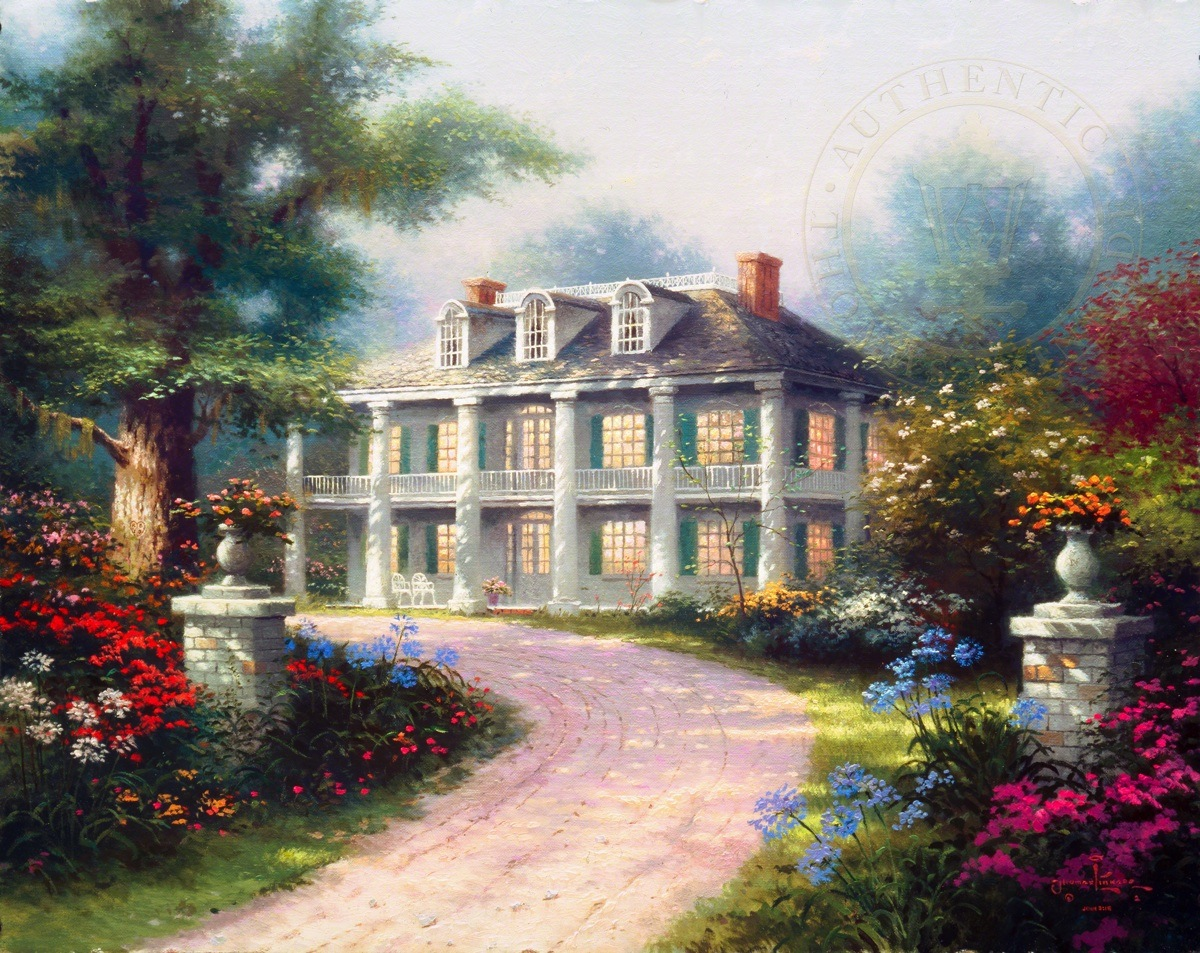 Homestead House The Thomas Kinkade Company