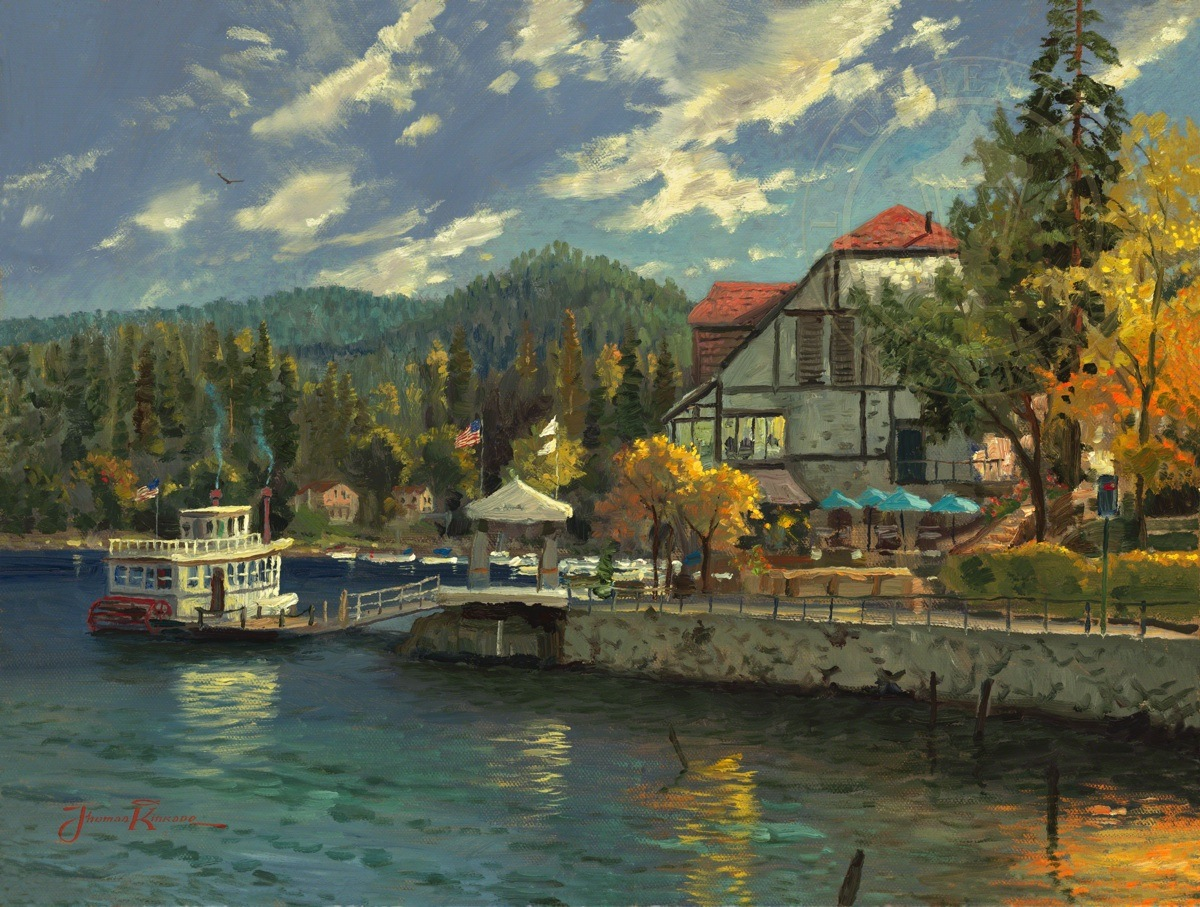 Lake Arrowhead The Thomas Kinkade Company
