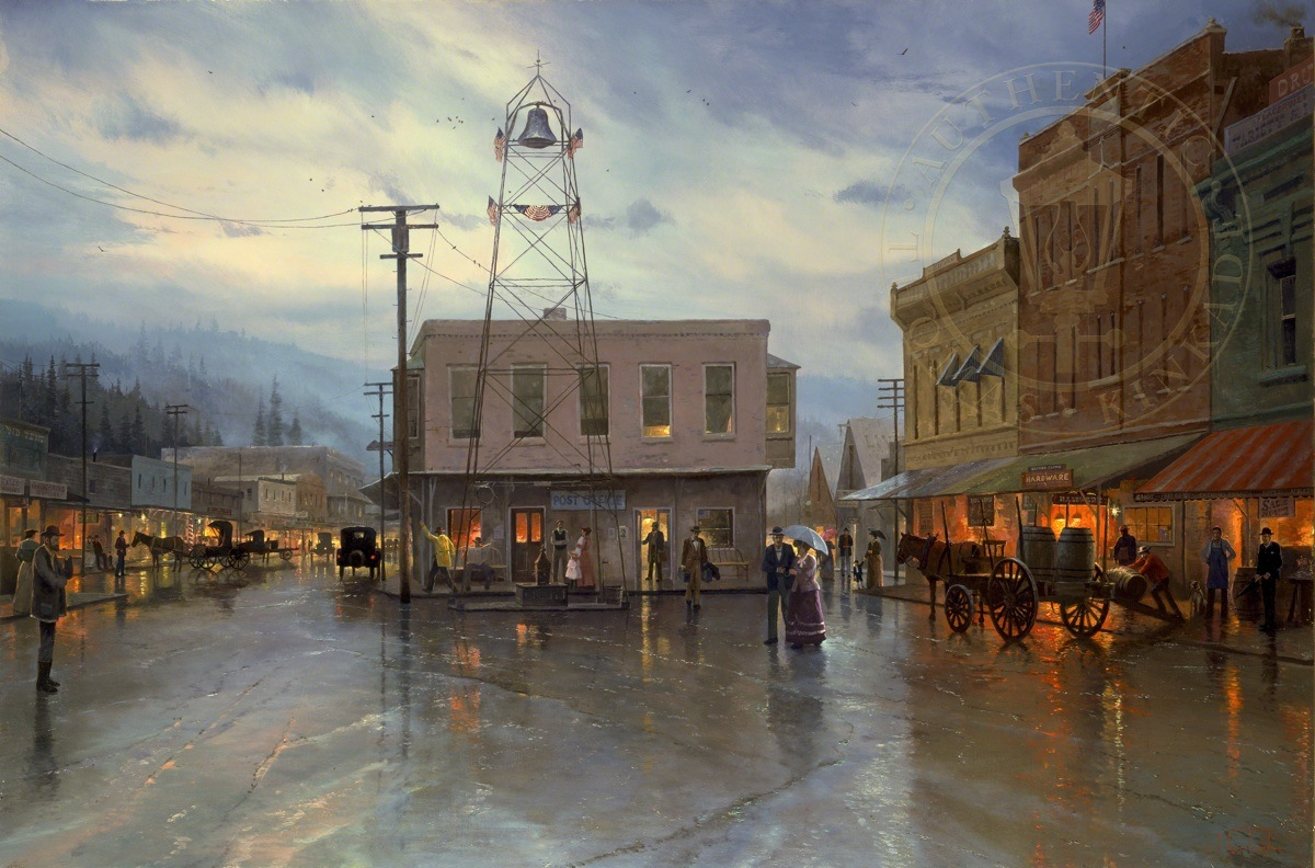 Placerville 1916 The Thomas Kinkade Company