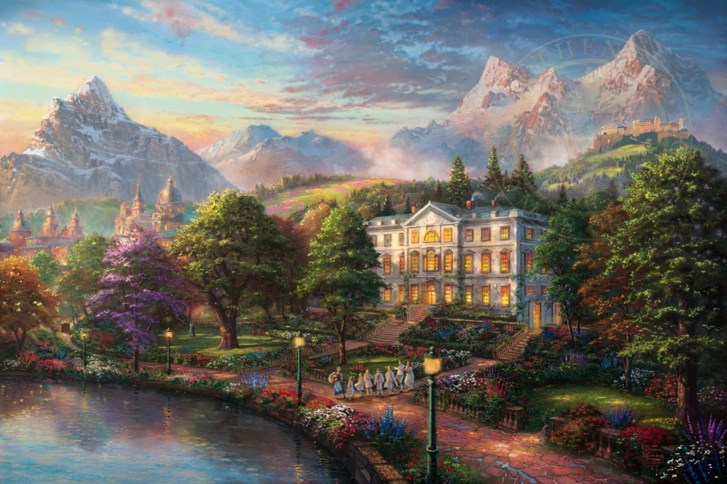 Thomas Kinkade The Sound of Music