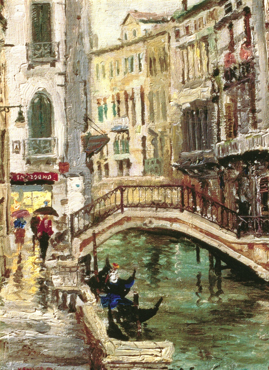 Venice Canal The Thomas Kinkade Company