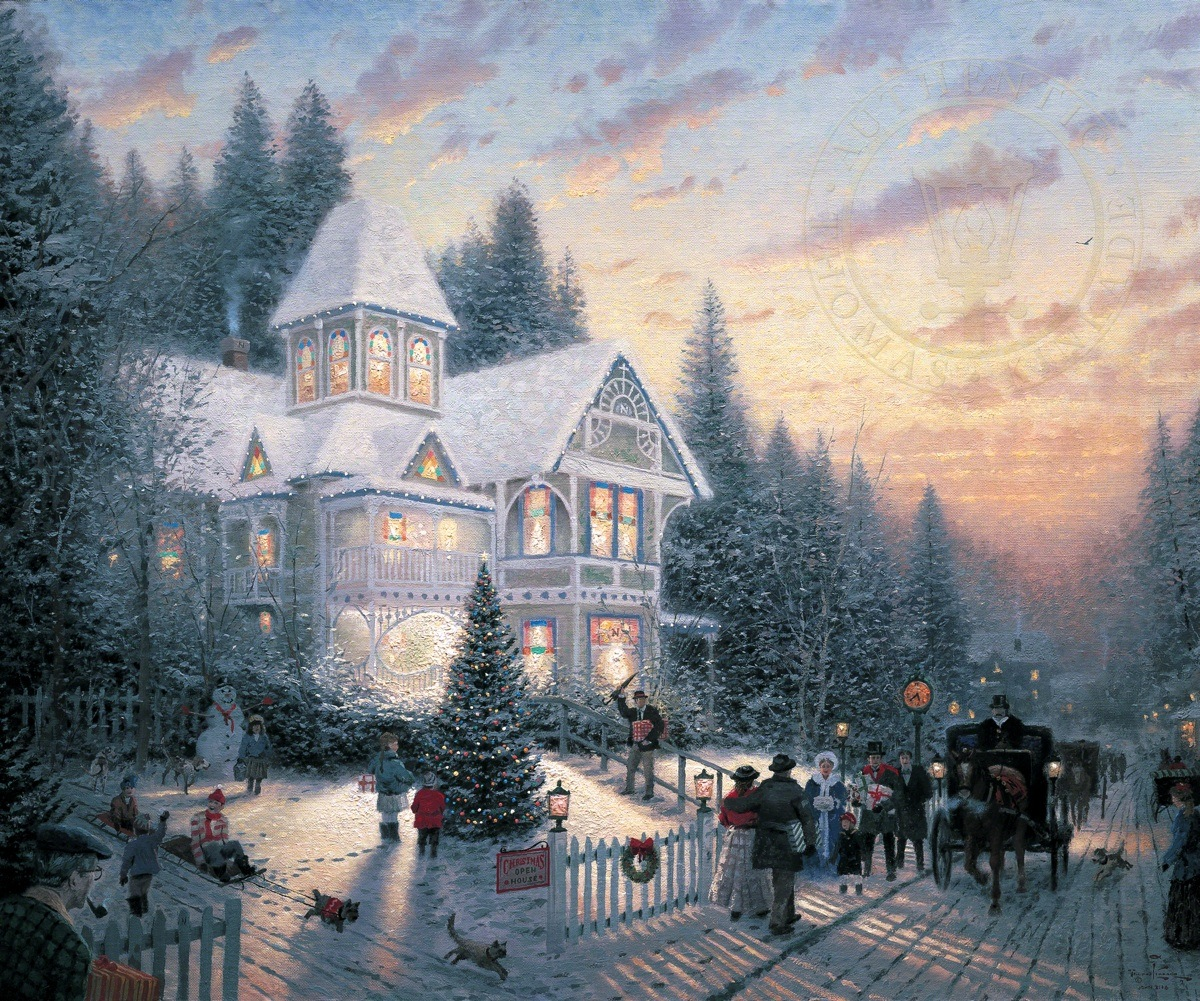 Victorian Christmas | The Thomas Kinkade Company