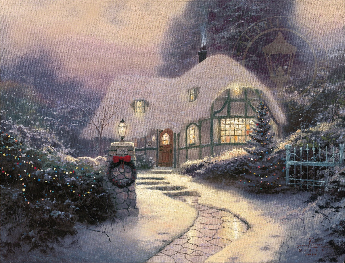 Thomas Kinkade Christmas Cottage 2020 Christmas Cottage | Thomas Kinkade Studios