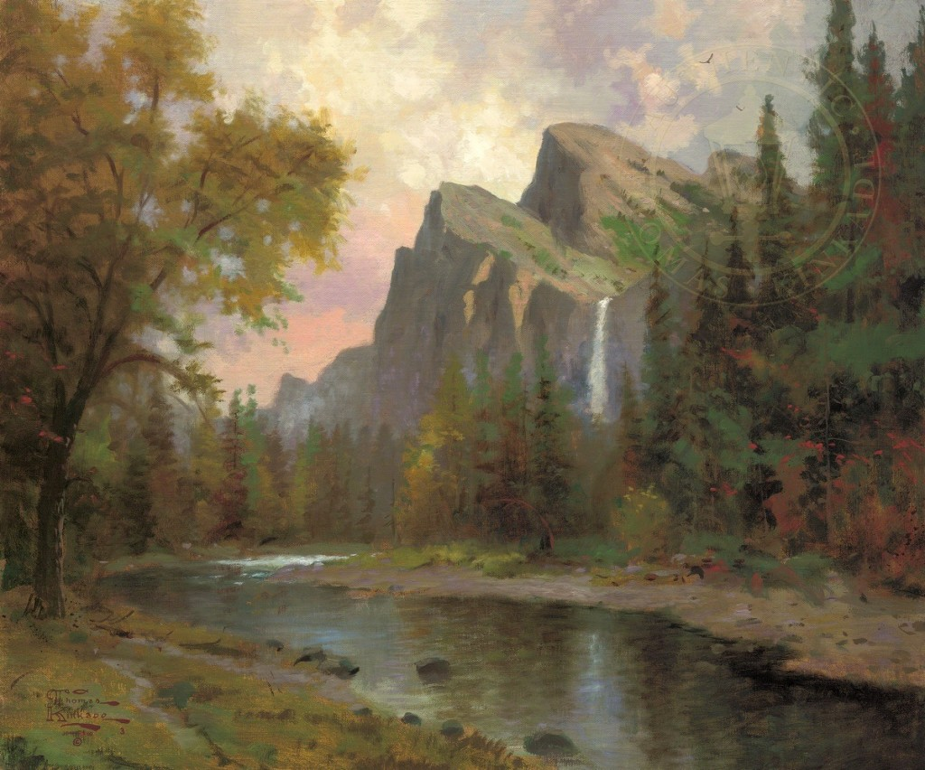 Thomas Kinkade Yosemite Valley