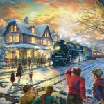 All Aboard for Christmas – Limited Edition Art