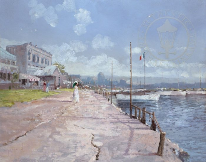 Along the Coast – Limited Edition Canvas