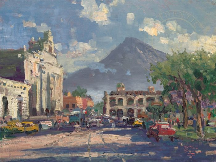 Antigua Sunset, Guatemala – Limited Edition Canvas