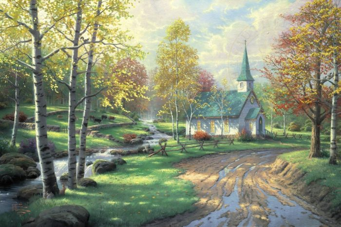 Aspen Chapel, The – Limited Edition Canvas