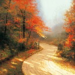 Autumn Lane – Limited Edition Canvas