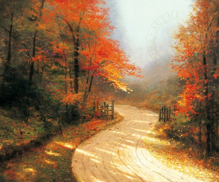 Autumn Lane – Limited Edition Art