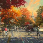 Autumn on Mackinac Island – Limited Edition Canvas
