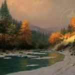 Autumn Snow – Limited Edition Canvas