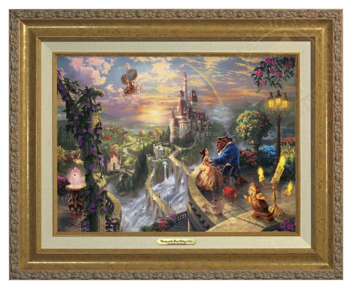 Beauty and the Beast Falling in Love – Canvas Classic