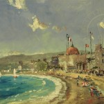 Beach at Nice, The – Limited Edition Canvas