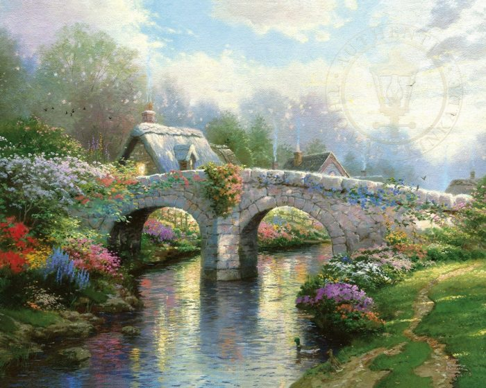 Blossom Bridge – Limited Edition Art