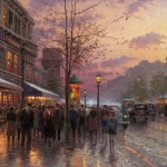 Boulevard Lights, Paris – Limited Edition Canvas