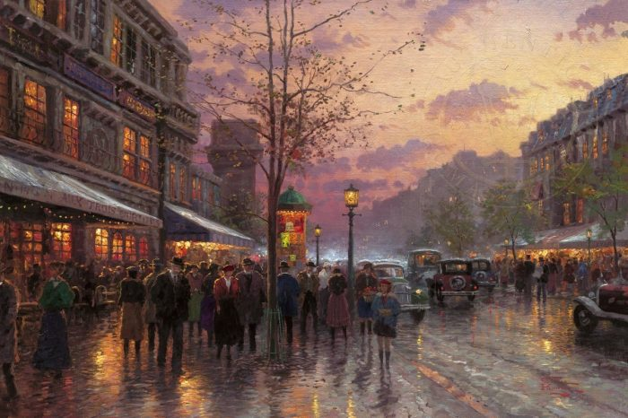 Boulevard Lights, Paris – Limited Edition Art