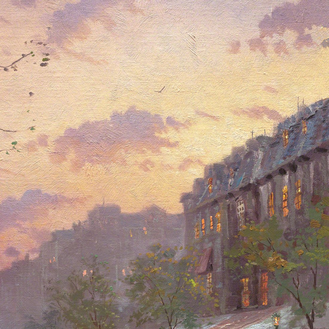 Boulevard Lights, Paris – Limited Edition Art | The Thomas Kinkade ...