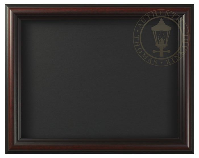 Burnished Cherry – 9″ x 12″ Matted Print Frame