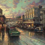 Cannery Row Sunset – Limited Edition Art