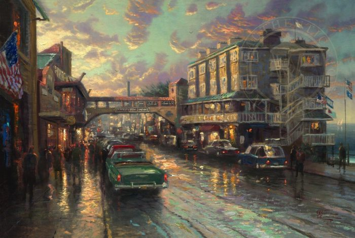 Cannery Row Sunset – Limited Edition Canvas