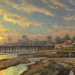 Capitola Sunset – Limited Edition Art