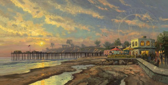 Capitola Sunset – Limited Edition Canvas