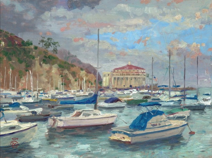 Catalina Marina – Limited Edition Art