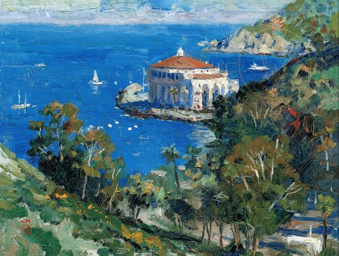 Catalina,View from Descanso – Limited Edition Canvas