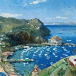 Catalina, View from Mt. Ada – Limited Edition Canvas