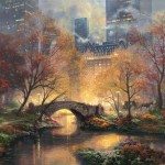 Central Park in the Fall – Limited Edition Canvas