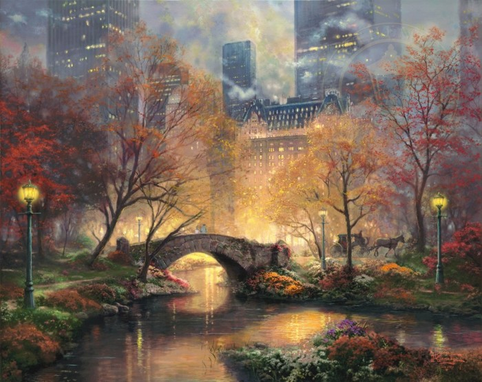 Central Park in the Fall – Limited Edition Art