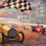 A Century of Racing! The 100th Anniversary Indianapolis 500 Mile® Race – Limited Edition Canvas