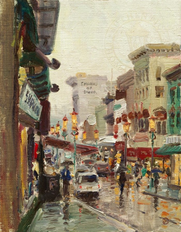 Chinatown, San Francisco – Limited Edition Canvas