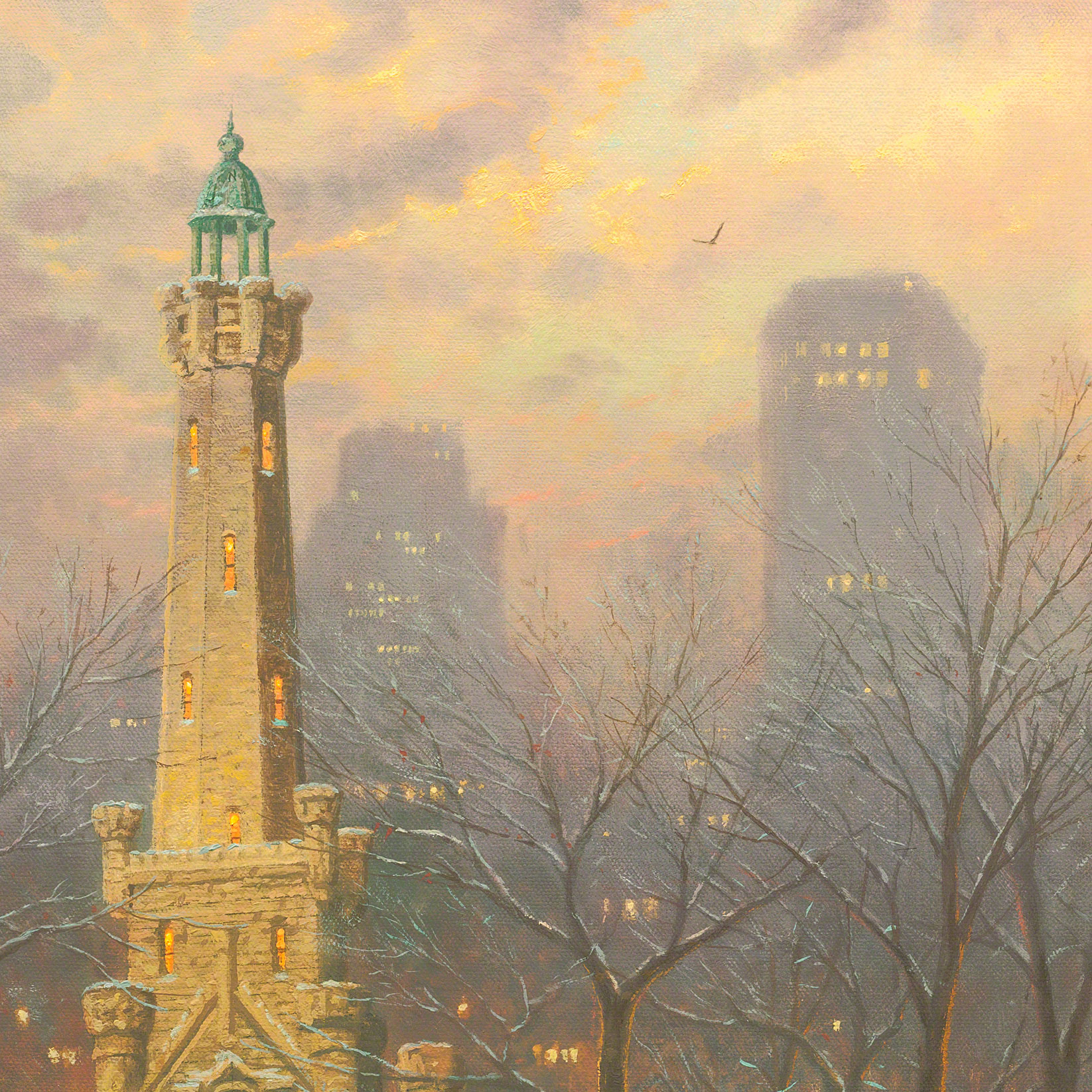 Chicago, Winter at the Water Tower – Limited Edition Art | The ...