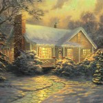 Christmas Cottage (Movie Release) – Limited Edition Canvas