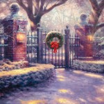 Christmas Gate – Limited Edition Canvas
