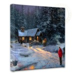"Christmas Miracle – 14"" x 14"" Gallery Wrapped Canvas"